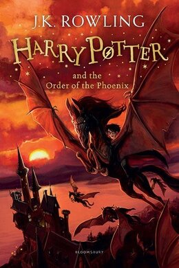 Harry Potter and the Order of the Phoenix. The 5th book. Paperback - фото книги