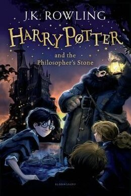Harry Potter and the Philosopher's Stone - фото книги