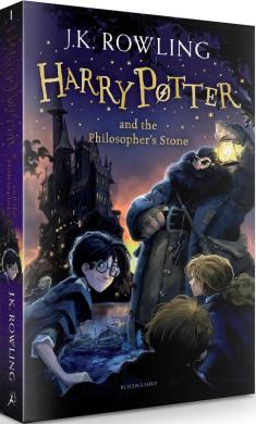 Harry Potter and the Philosopher's Stone - фото книги