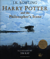 Harry Potter and the Philosopher's Stone : Illustrated Edition - фото обкладинки книги