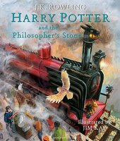 Harry Potter and the Philosopher's Stone (Illustrated Edition). The 1st book - фото обкладинки книги