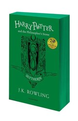 Harry Potter and the Philosopher's Stone (Slytherin Edition). The 1st book - фото обкладинки книги