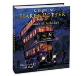 Harry Potter and the Prisoner of Azkaban (Illustrated Edition). The 3rd book - фото обкладинки книги