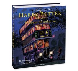 Harry Potter and the Prisoner of Azkaban (Illustrated Edition). The 3rd book - фото книги