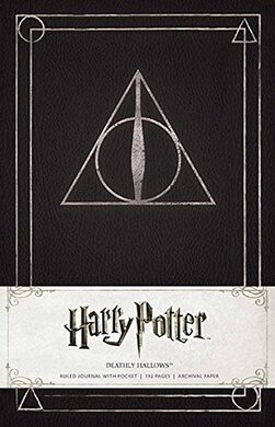 Harry Potter. Deathly Hallows. Ruled Journal - фото книги
