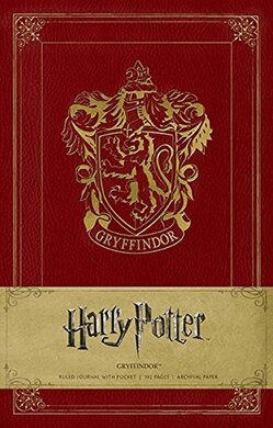 Harry Potter. Gryffindor. Ruled Journal - фото книги