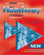 Headway: Teacher's Book (including Tests) Pre-intermediate level - фото обкладинки книги