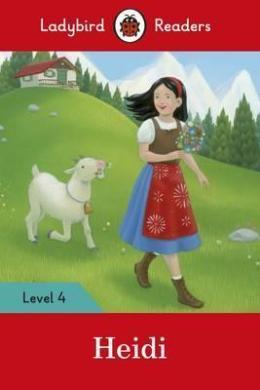 Heidi Activity Book - Ladybird Readers Level 4 - фото книги