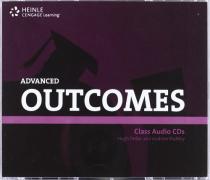 Робочий зошит HEINLE Cengage Learning Advanced Outcomes Class Audio CDs Hugh Dellar and Andrew Walkley