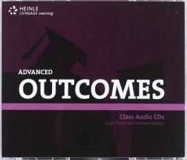 Аудіодиск HEINLE Cengage Learning Advanced Outcomes Class Audio CDs Hugh Dellar and Andrew Walkley