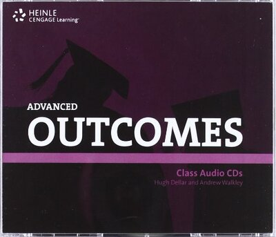 Аудіодиск HEINLE Cengage Learning Advanced Outcomes Class Audio CDs Hugh Dellar and Andrew Walkley