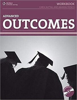 HEINLE Cengage Learning Advanced Outcomes Workbook Carol Nuttall and Amanda French with Key and CD - фото книги