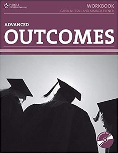 Робочий зошит HEINLE Cengage Learning Advanced Outcomes Workbook Carol Nuttall and Amanda French with Key and CD