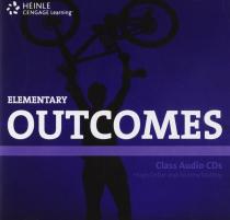 Робочий зошит HEINLE Cengage Learning Elementary Outcomes Class Audio CDs Hugh Dellar and Andrew Walkley