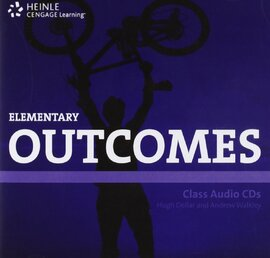 HEINLE Cengage Learning Elementary Outcomes Class Audio CDs Hugh Dellar and Andrew Walkley - фото книги