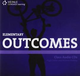 Аудіодиск HEINLE Cengage Learning Elementary Outcomes Class Audio CDs Hugh Dellar and Andrew Walkley
