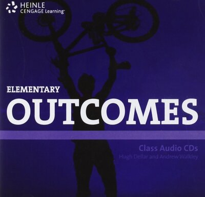 Аудіодиск HEINLE Cengage Learning Elementary Outcomes Class Audio CDs Hugh Dellar and Andrew Walkley