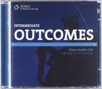 Посібник HEINLE Cengage Learning Intermediate Outcomes Class Audio CDs Hugh Dellar and Andrew Walkley
