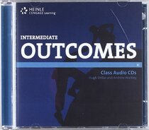 Аудіодиск HEINLE Cengage Learning Intermediate Outcomes Class Audio CDs Hugh Dellar and Andrew Walkley