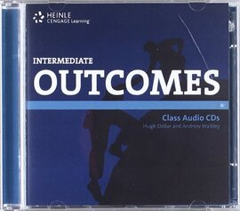 HEINLE Cengage Learning Intermediate Outcomes Class Audio CDs Hugh Dellar and Andrew Walkley - фото книги