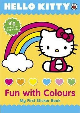 Hello Kitty: Fun with Colours. My First Sticker Book - фото книги