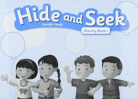 Hide and Seek 1: Activity Book with Audio CD - фото книги