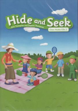 Hide and Seek 2: Class Audio CDs - фото книги
