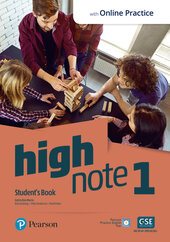 High Note 1 Student's Book with MyEnglishLab - фото обкладинки книги