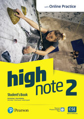 High Note 2 Student's Book with Active Book and MyEnglishLab - фото обкладинки книги
