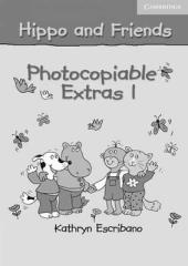 Hippo and Friends 1. Photocopiable Extras (додаткові матеріали для фотокопіювання) - фото обкладинки книги