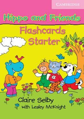 Hippo and Friends Starter. Flashcards Pack of 41 (41 карток наочності) - фото книги
