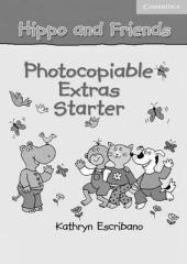Hippo and Friends Starter. Photocopiable Extras (додаткові матеріали для фотокопіювання) - фото обкладинки книги
