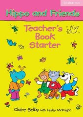 Hippo and Friends Starter. Teacher's Book - фото обкладинки книги