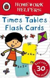 Homework Helpers: Times Tables. Flash cards - фото обкладинки книги