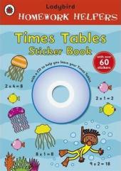 Homework Helpers: Times Tables. Sticker Book with CD - фото обкладинки книги