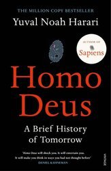 Homo Deus: A Brief History of Tomorrow - фото обкладинки книги
