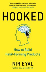 Hooked : How to Build Habit-Forming Products - фото обкладинки книги