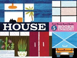 House: First Words Board Books. 5 books inside! - фото книги