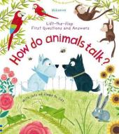 How Do Animals Talk? - фото обкладинки книги