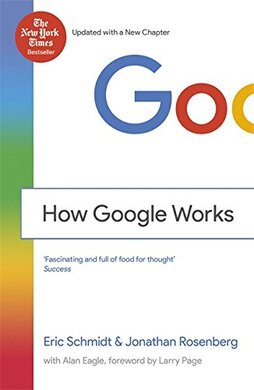 How Google Works - фото книги