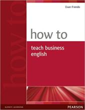 How to Teach Business English (підручник) - фото обкладинки книги