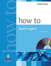 How to Teach English Book with DVD (підручник+аудіодиск) - фото обкладинки книги