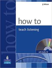 How to Teach Listening Book+CD (підручник+аудіодиск) - фото обкладинки книги