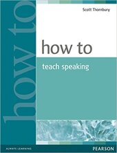 How to Teach Speaking (підручник) - фото обкладинки книги