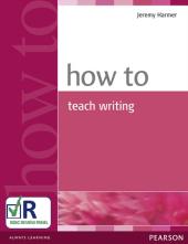 How to Teach Writing New  (підручник) - фото обкладинки книги