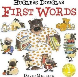 Hugless Douglas First Words Board Book - фото книги