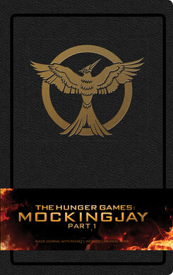 Hunger Games: Mockingjay Part 1 Hardcover Ruled Journal - фото книги