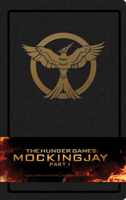 Hunger Games: Mockingjay Part 1 Hardcover Ruled Journal - фото книги