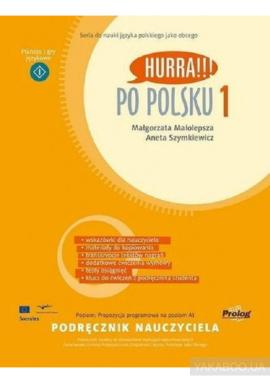 Hurra!!! Po Polsku 1 - Podrecznik nauczyciela - фото книги