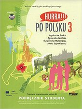 Hurra!!! Po Polsku 3: Student's Textbook - фото обкладинки книги